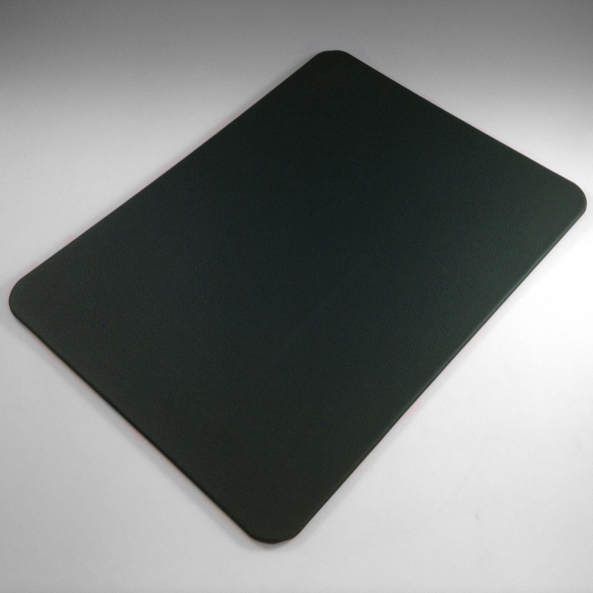 Dark Green Leather Desk Blotter  Desk Pads  Prestige Office