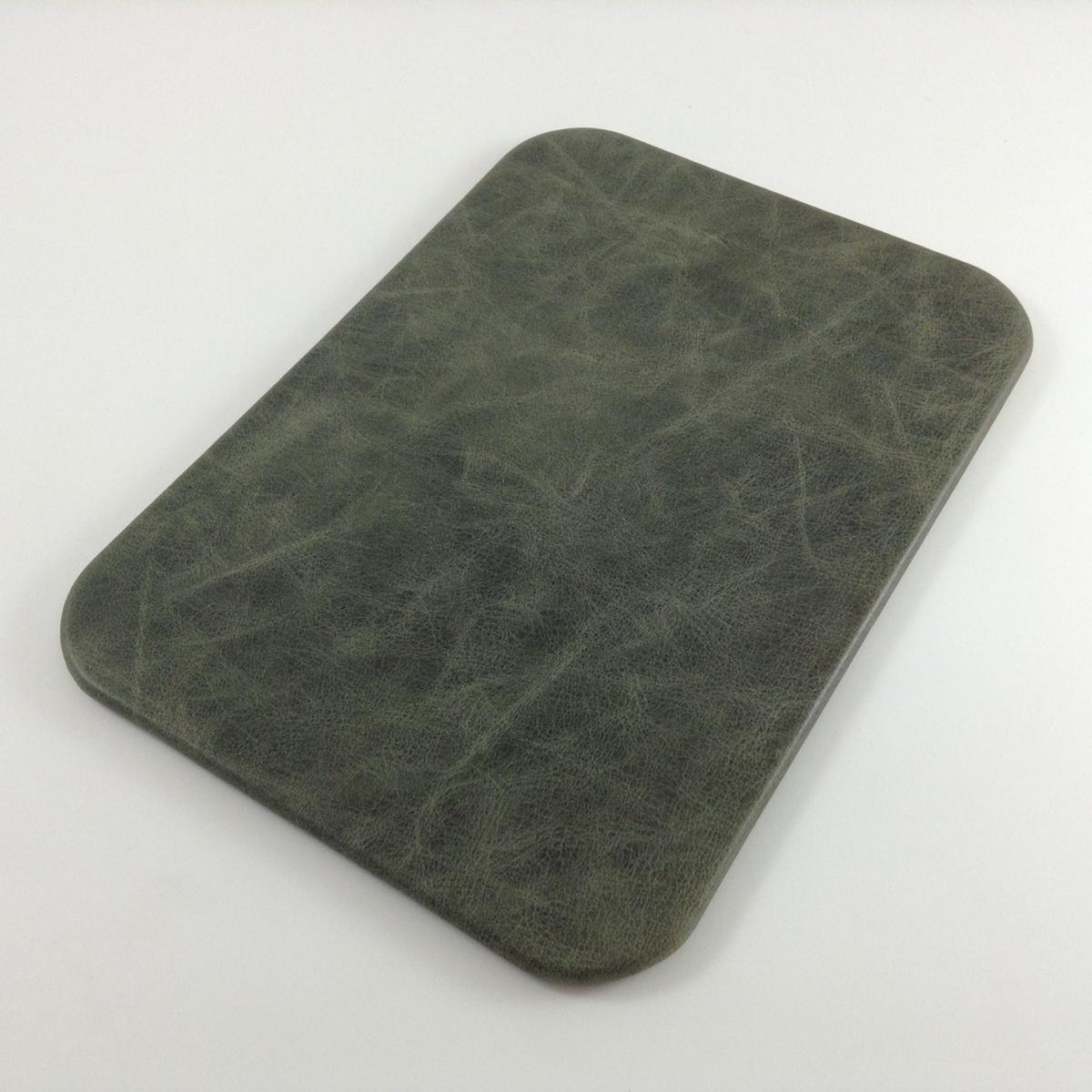 Verde Antiqued Leather Desk Pad