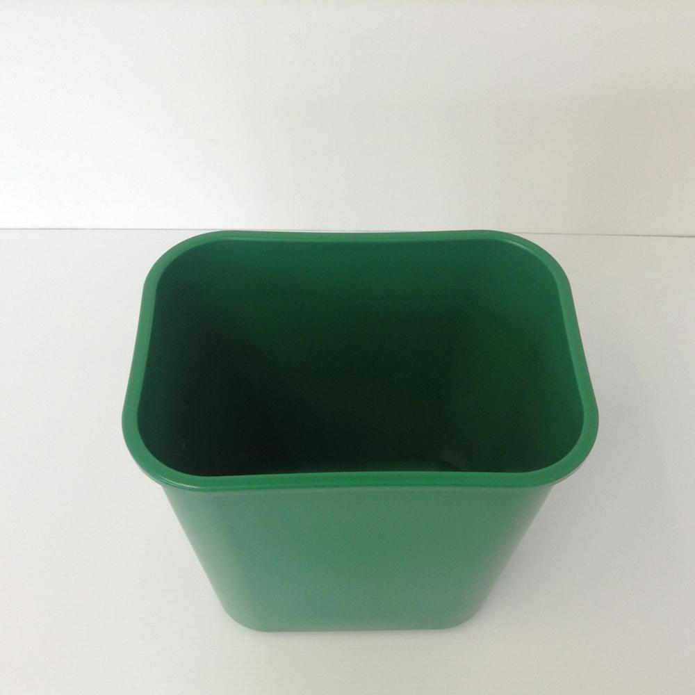 kitchen linoleum floor to ceiling cabinets green plastic recycling bin, wastebasket | prestige office ...