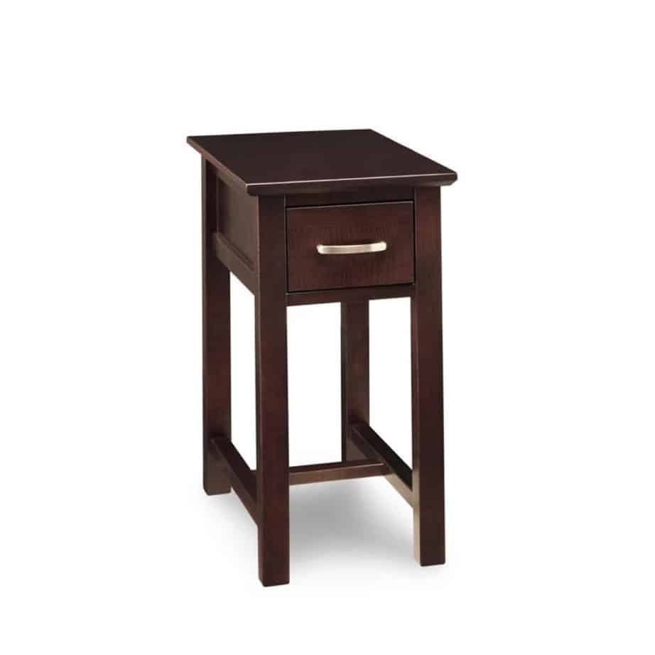chair side tables canada white wicker dining chairs brooklyn chairside table home envy furnishings solid wood
