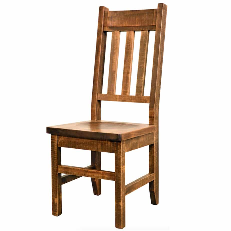 distressed adirondack chairs walmart sleeper chair dining home envy furnishings solid wood contemporary industrial made in canada maple