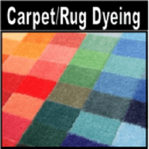 Carpet / Rug Dyeing