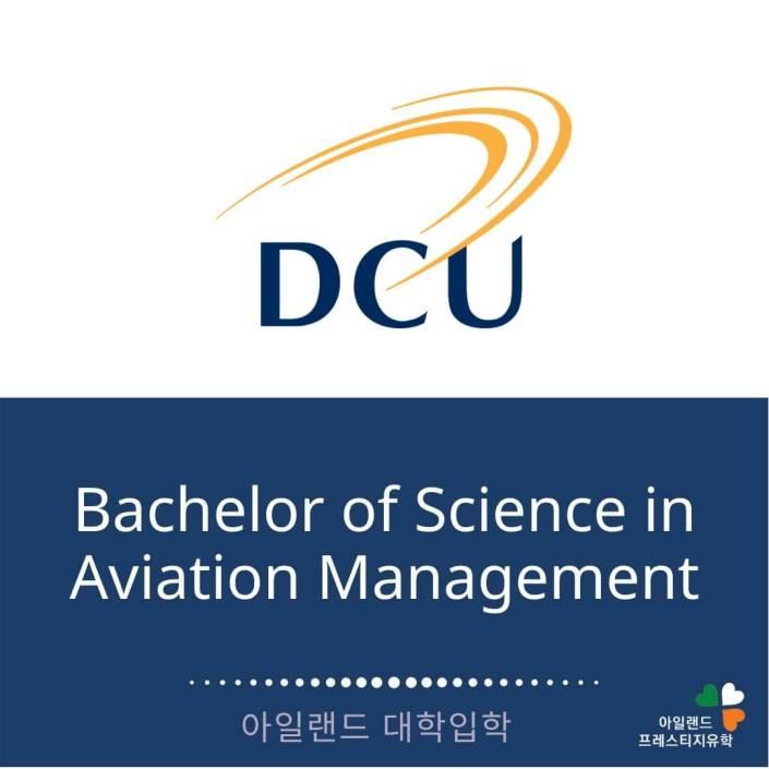 DCU대학교-아일랜드유학- (3) 에비에이션