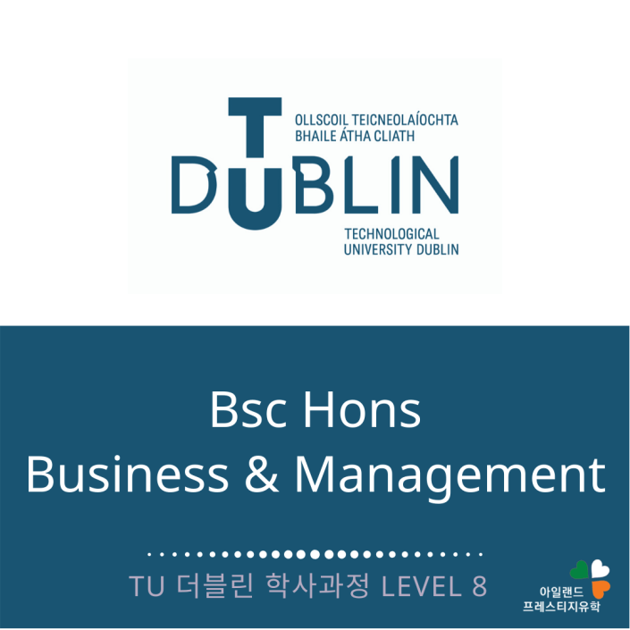TU DUBLIN_Business and management_아일랜드대학유학