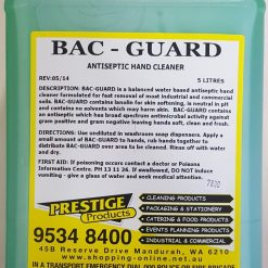 Bac Guard Antiseptic Hand Soap