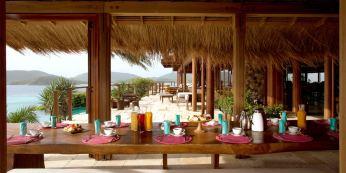 Great House Breakfast, Necker Island, British Virgin Islands, Caribbean, Prestigious Venues