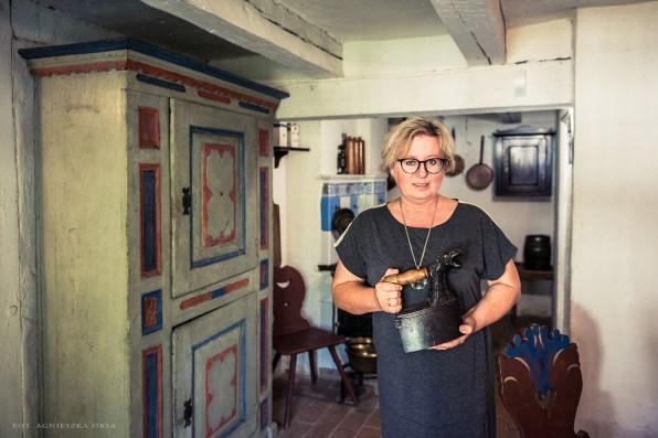 Ewa Pliszka, kierownik Działu Etnograficznego Muzeum w Koszalinie