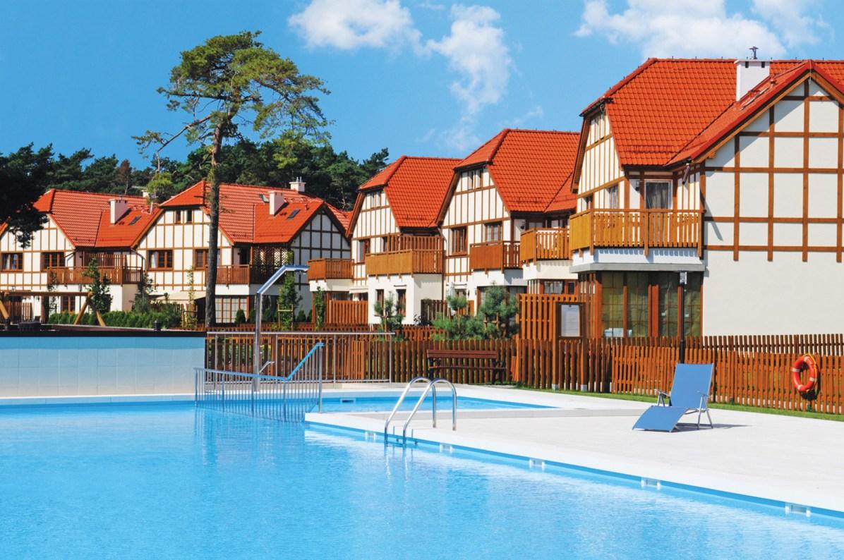 Rogowo. Rezydencja Nadmorska - basen kąpielowy
