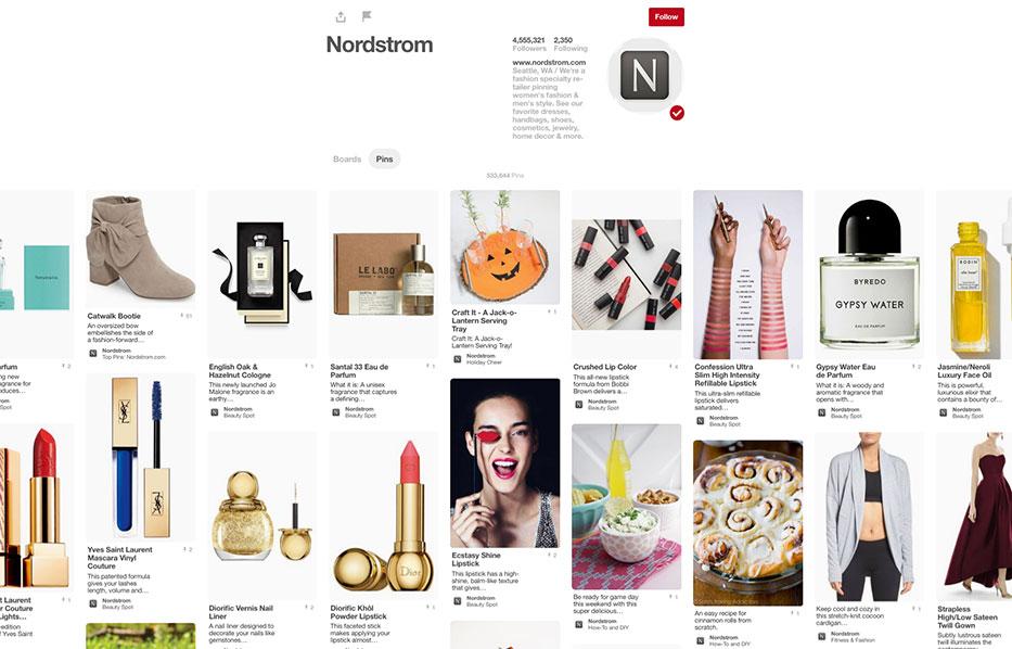 Pinterest Page Social Media