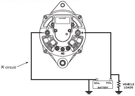 Acdelco Alternator Wiring Diagram, Acdelco, Free Engine