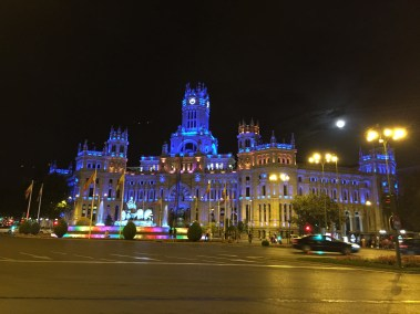 Madrid City Hall Pride Colors