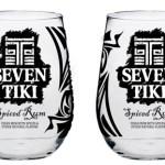 Seven Tiki™ Glasses