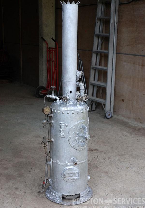 Vertical CrossTube Steam Boiler 5 Ft High  PRESTON SERVICES