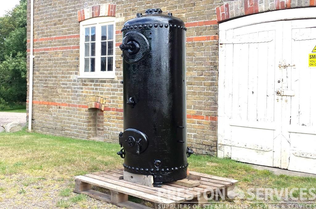 Vertical CrossTube Boiler  PRESTON SERVICES
