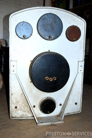 RUTHS Special Gauge Board, Vintage Gauge Board  PRESTON SERVICES