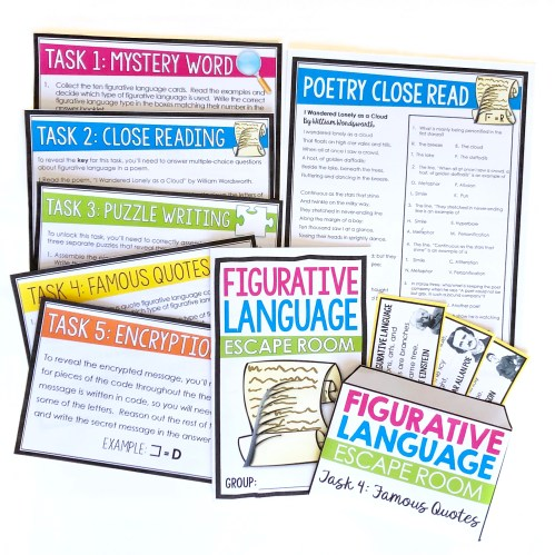 small resolution of 8 Creative Figurative Language Activities for Review - Presto Plans