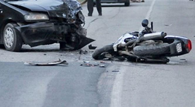 V prometni nesreči življenje izgubil 41-letni motorist