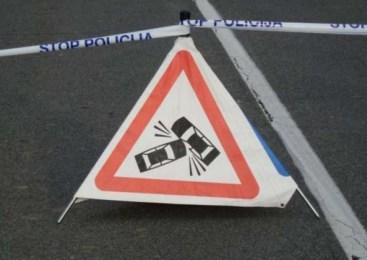 Prometna nesreča na avtocesti pri Blagovici, v smeri proti Celju