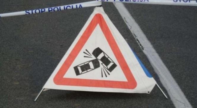 V prometnih nesrečah ena oseba poškodovana