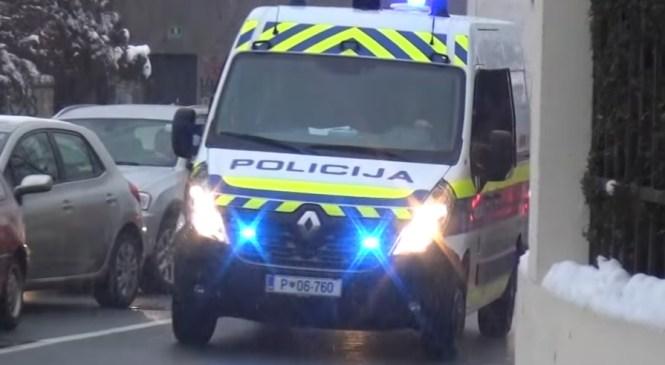 Hrvaški državljan pred policijo divjal po kranju