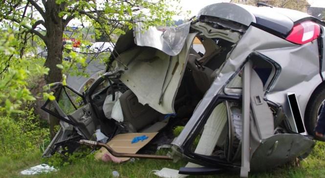 Nepravilna stran vožnje pri avtomobilistu in alkohol pri kolesarju