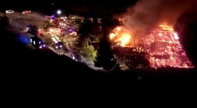 VIDEO: Zagorelo v priljubljenem zabavišču Ribičija, pri Mariboru