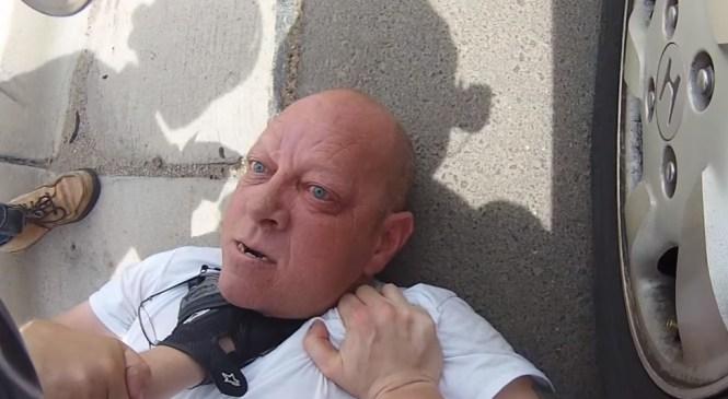 VIDEO: S pestjo nad motorista in motoristko, kmalu za tem pa hladen tuš …