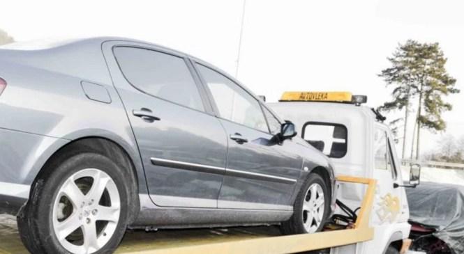 Kranjski policisti zasegli dve vozili