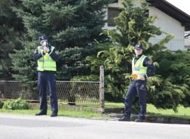 Policisti Postaje prometne policije Koper izvajali meritve hitrosti in ugotovili 31 kršitev