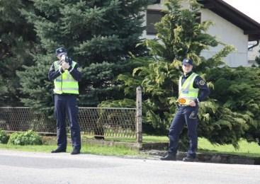 Pomurski policisti bodo danes meritve hitrosti izvajali na območju celotne policijske uprave