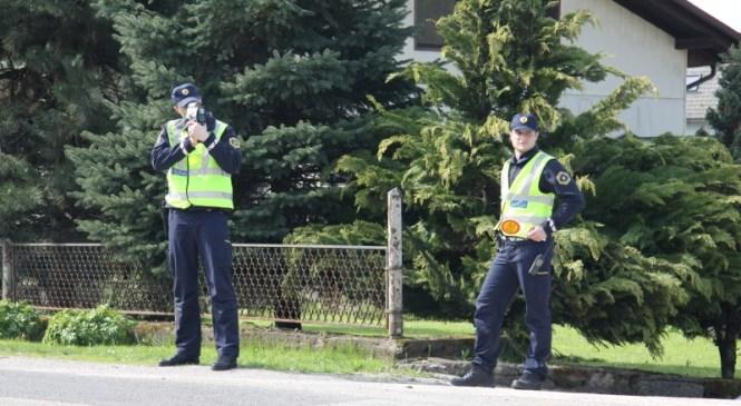 Poostren nadzor hitrosti na območju PU Maribor: Ugotovili 60 kršitev