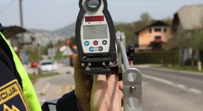 Danes na območju PU Novo mesto poostren nadzor v okviru vseevropske akcije Hitrost