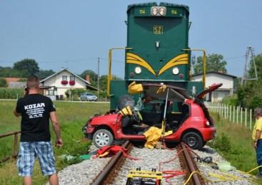 Železniška nesreča pri Postojni