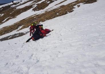 Hudo poškodovan 28-letni plezalec