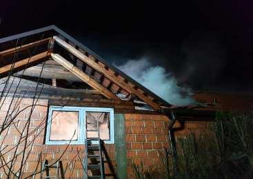 Policisti obravnavali požar v kurilnici stanovanjske hiše