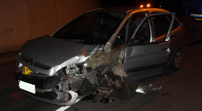 Pod vplivom alkohola povzročil prometno nesrečo