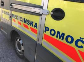 28-letni delavec poškodovan med delom