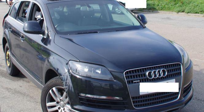 Pomurski policisti zasegli ukraden Audi Q7