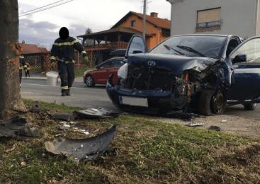 Podbrezje: Prometna nesreča s smrtnim izidom
