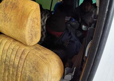 V kombiju prevažal kar 25 ilegalnih migrantov