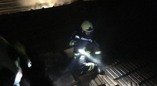 Požar na stroju za predelavo odpadkov povzročil za 250 tisočakov škode