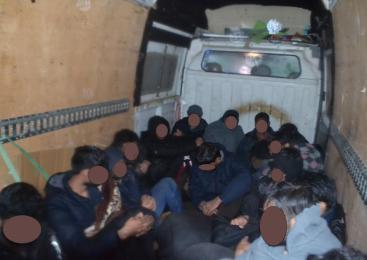 Celjski policisti izsledili in prijeli 15 ilegalnih prebežnikov