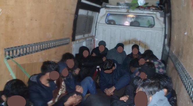Koprski policisti v preteklem dnevu obravnavali 11 ilegalnih prebežnikov