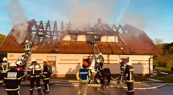 Cogetinci: V požaru nastalo za 150 tisočakov škode
