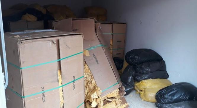 Policisti zasegli več kot 6 ton tobaka