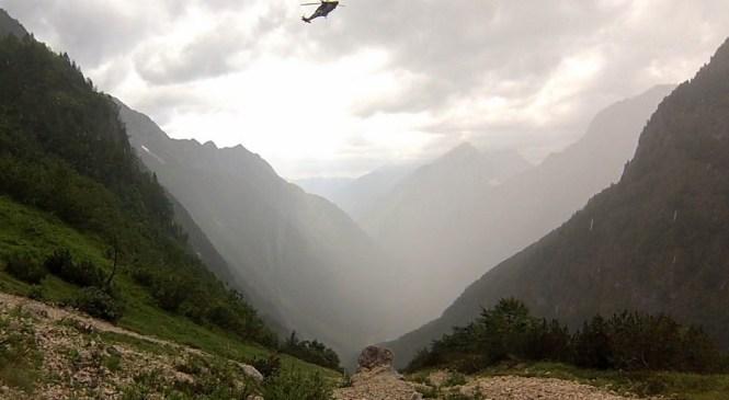 Turizem in sezona v gorah očitno še zdaleč nista končana, nesreče se kar vrstijo