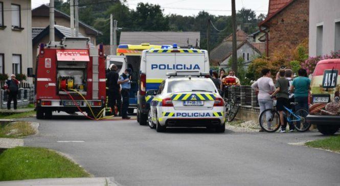 Odranci: Kolesar padel in se nabodel na ograjo