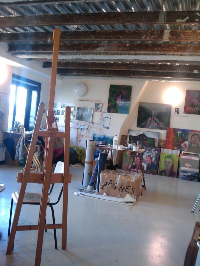 Paris artist squat