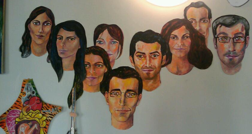 59 rivoli painting faces