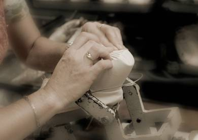 repetto ballet shoe construction